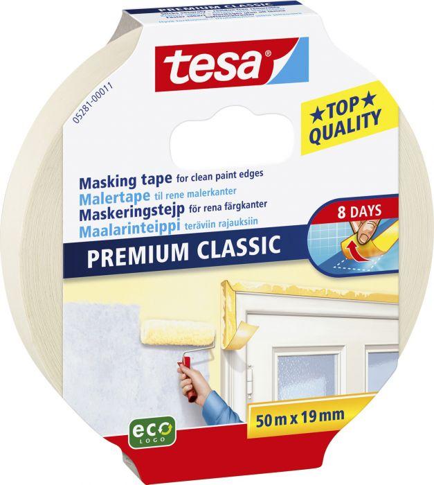 Maalarinteippi Tesa Classic 50 m x 19 mm