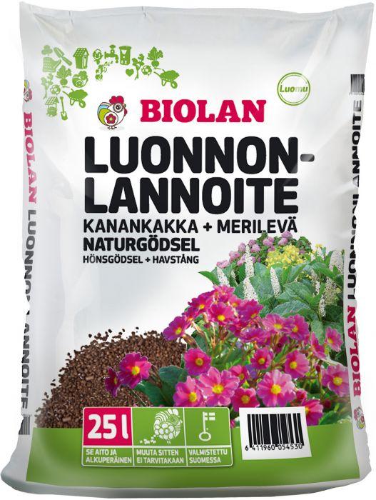 Luonnonlannoite Biolan 25 L
