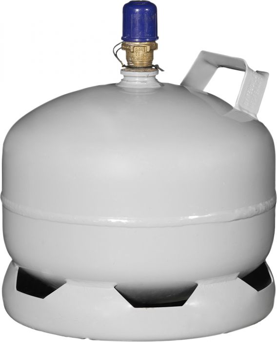 Nestekaasu AGA Teräspullo 5 kg PV Kuori