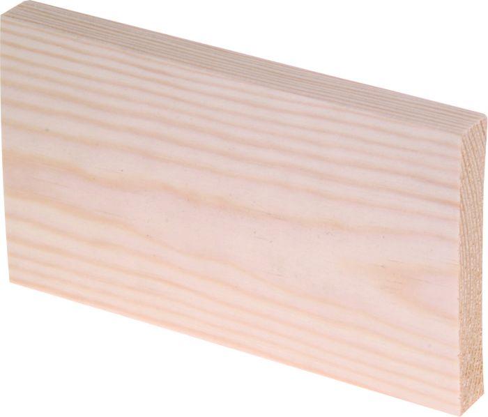 Höylälista Maler SH Mänty Puuvalmis 15 x 90 x 3000 mm