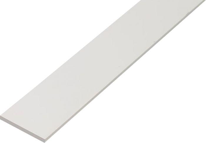 Lattatanko Kantoflex Muovi Valkoinen 3 x 30 x 1000 mm