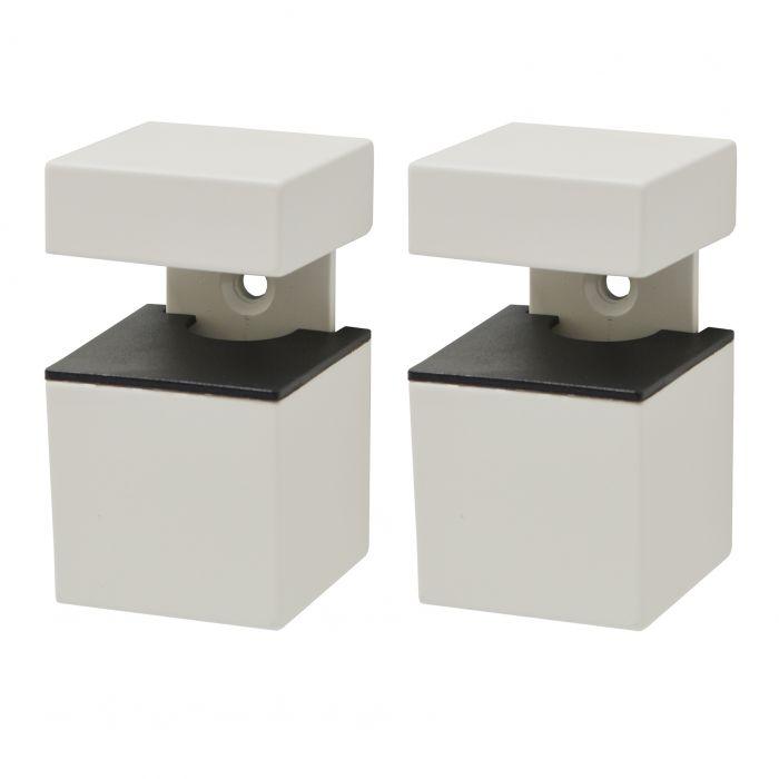 Kannatinsarja Supreme Cube Matta Valkoinen