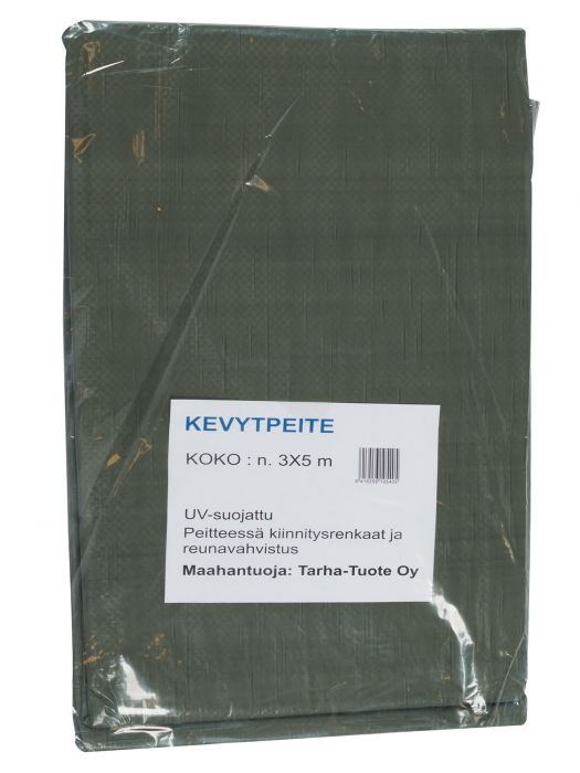 Kevytpeite 3 x 5 m 90 g/m²