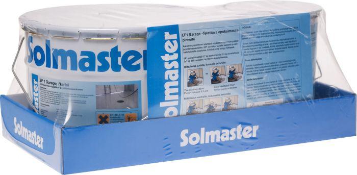 Epoksimassapinnoite Solmaster EP1 Garage 12 kg Vaaleanharmaa