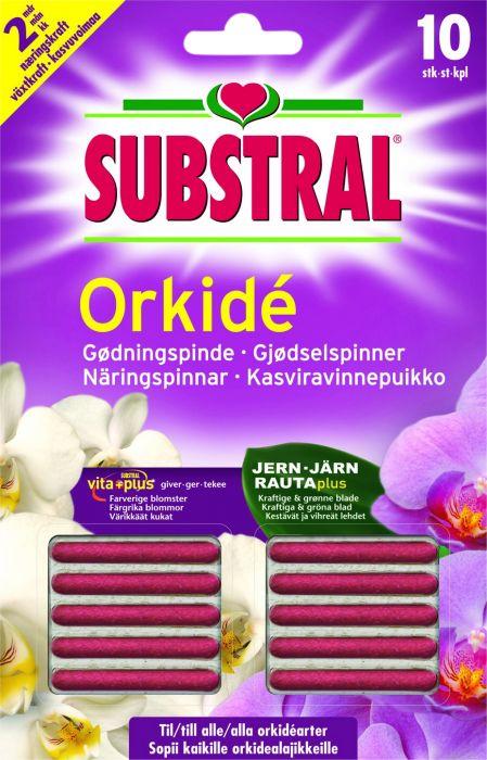 Kasviravinnepuikko Substral Orkidé