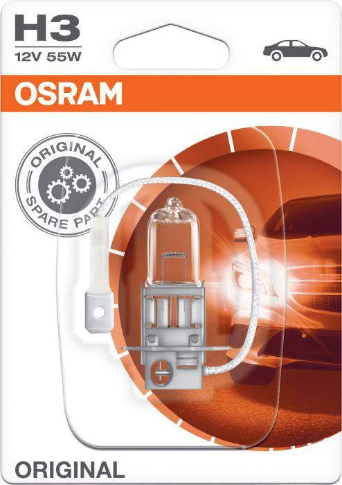 Polttimo Osram Original H3 1 kpl