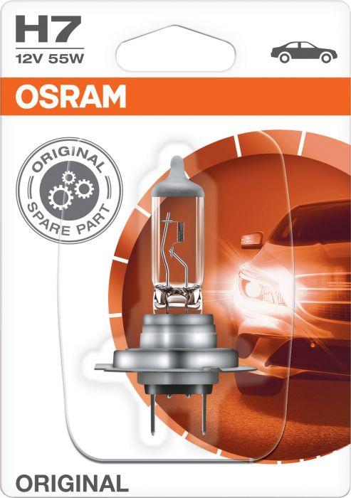 Polttimo Osram Original H7 1 kpl