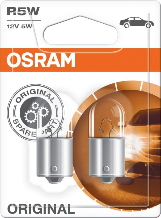 Polttimo Osram Original Vilkkuvalo 5007 R5W 2 kpl