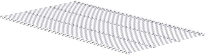 Ritilähylly Lundbergs 902 x 494 mm Valkoinen