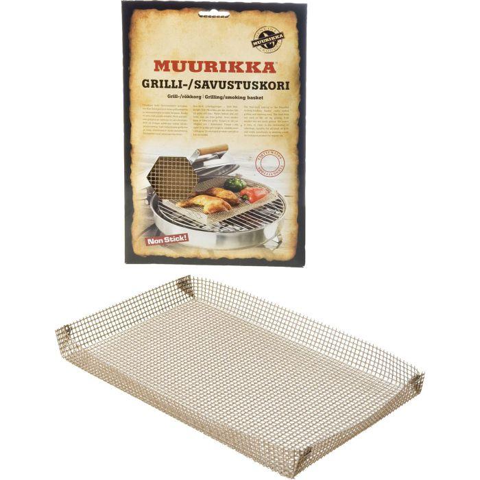 Grilli-/savustuskori 20 x 32 cm Muurikka