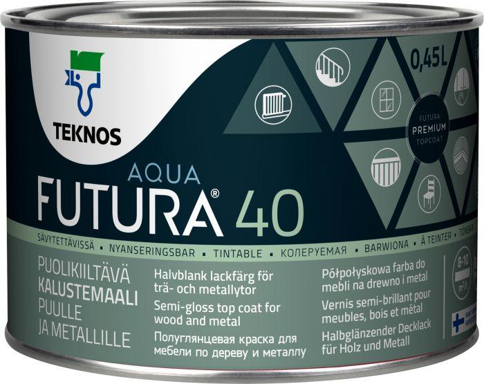 Kalustemaali Teknos Futura Aqua 40