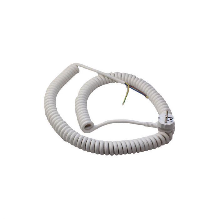 Spiraalikaapeli Reimax Electronics Valkoinen