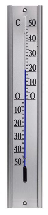 Ulkolämpömittari alumiini 48 cm