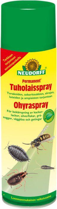 Tuholaisspray Neudorff Permanent 500 ml