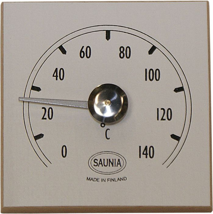 Saunan Lämpömittari Valkoinen