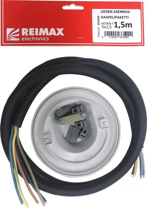 Asennuskaapelisetti liedelle Reimax Electronics