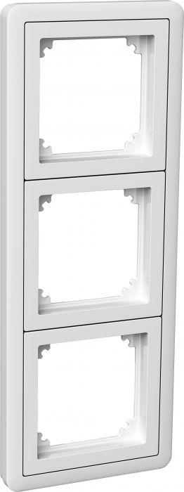 Kehys Schneider Exxact Combi 3-osainen Adapterilla Valkoinen