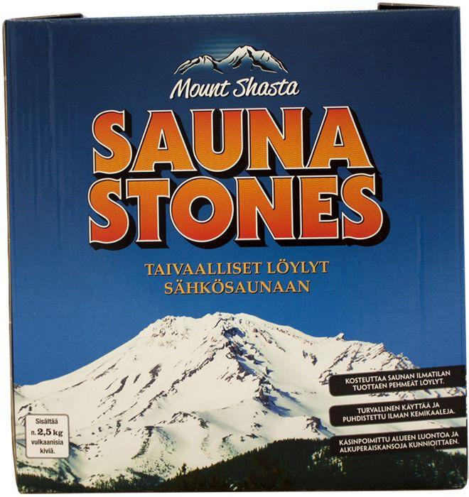 Löylykivet Emendo Mount Shasta 2,5 kg