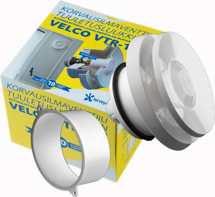 Korvausilmaventtiili Terveysilma Velco VTR-100 Valkoinen