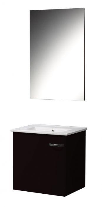 Kylpyhuonekaluste T-Lux Musta