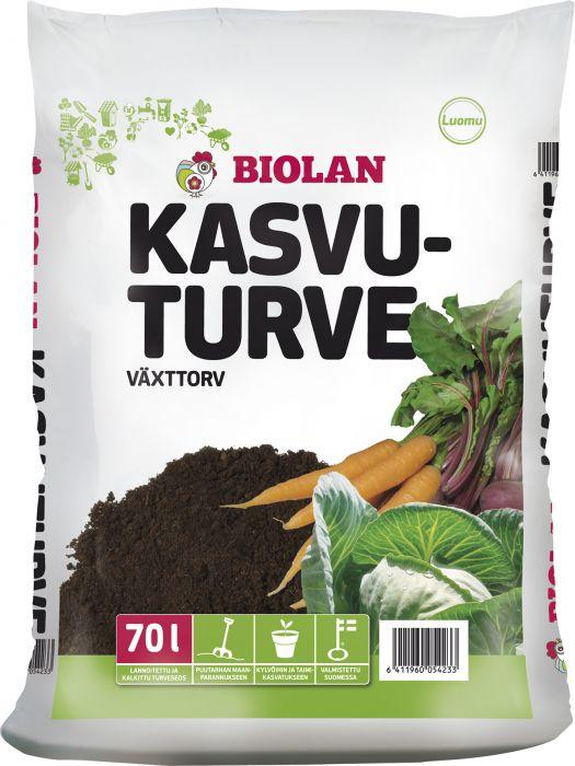 Kasvuturve Biolan 70 L