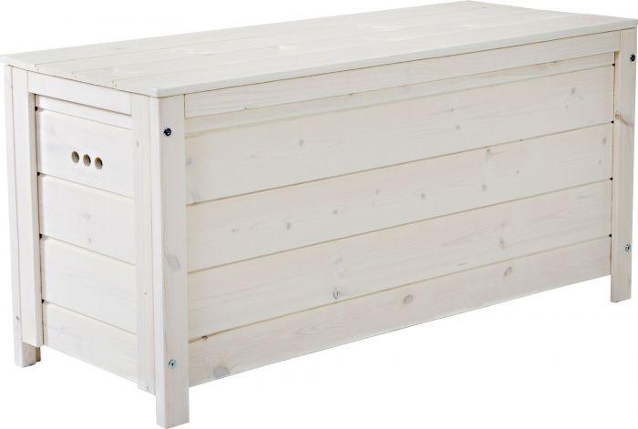 Säilytyslaatikko 117 x 46 x 58 cm valkoinen