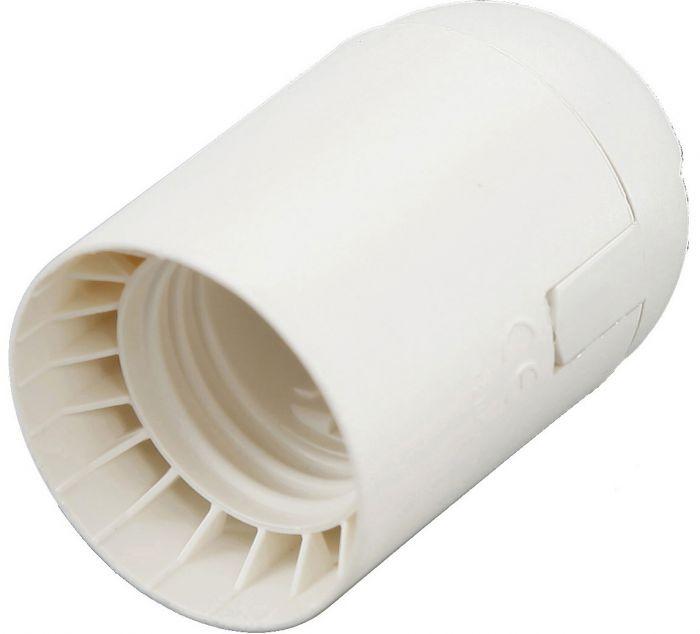 Lampunpidin ElectroGEAR E27 Valkoinen + Vedonpoistonippa