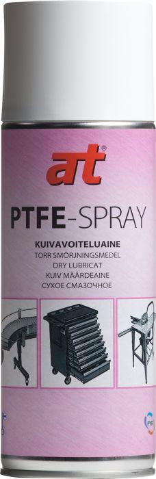 Kuivavoiteluaine AT PTFE-spray (3650) 400 ml