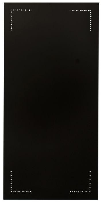 Palosuojalevy Misa Musta 48 x 98 cm