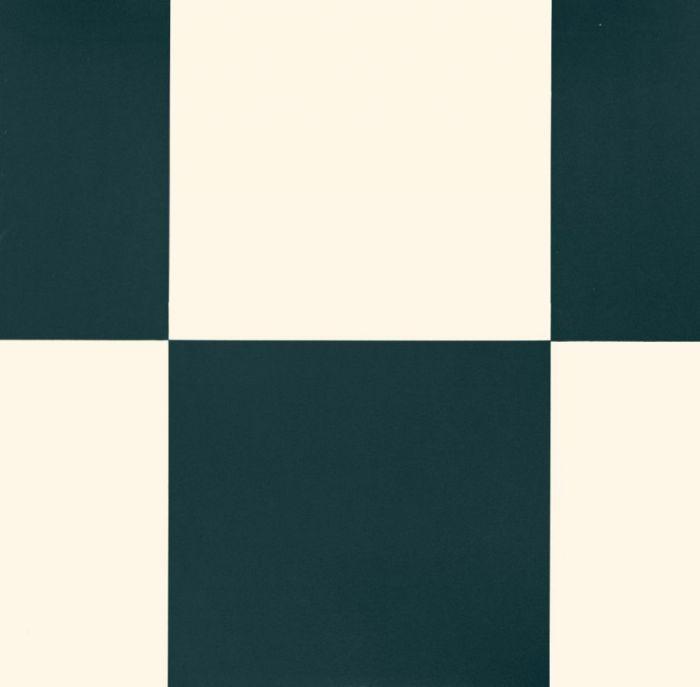 Vinyylimatto Tarkett Essentials 260 Echiquier Black White 4 m