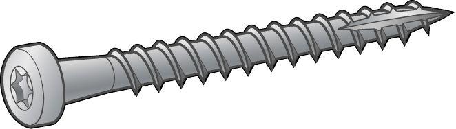 Ankkuriruuvi Essve 5 x 40 mm 250 Kpl
