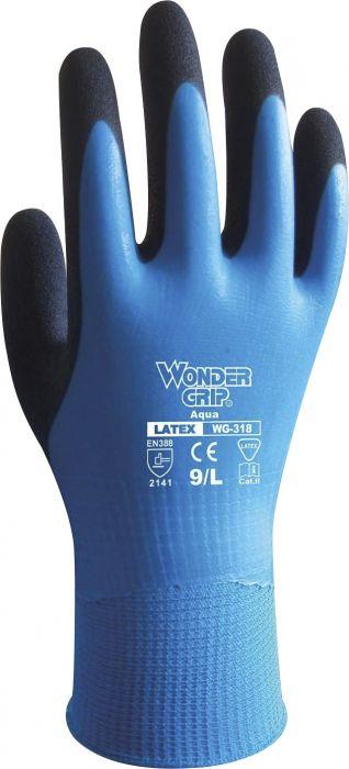 Työkäsine Wonder Grip Aqua 318