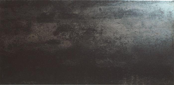 Seinä-/lattialaatta Titanium Musta 30 x 60 cm