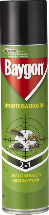 Hyönteisaerosoli Baygon 400 ml