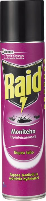 Hyönteisaerosoli Raid moniteho 400 ml