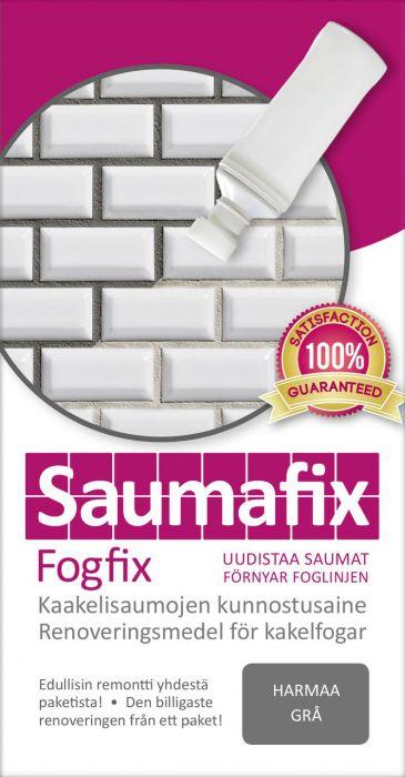 Kaakelisauma-aine Saumafix Harmaa 100 ml