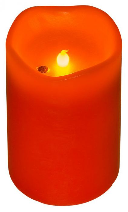 LED Kynttilä Airam Puhallettava Punainen