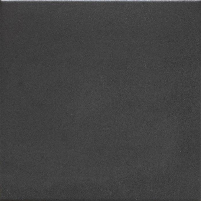 Seinä- ja Lattialaatta Retro Musta 20 x 20 cm
