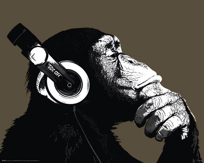 Sisustustaulu Reinders The Chimp Stereo