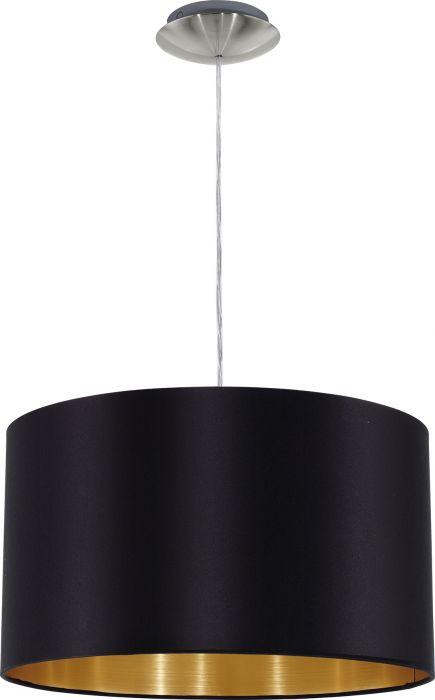 Riippulavaisin Eglo Maserlo Musta Ø 38 cm