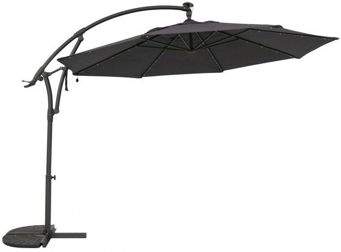 Aurinkovarjo SunFun Solar antrasiitti 330 cm