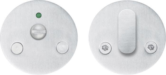 WC-vääntönuppi Beslagsboden B240SNS Harjattu ruostumaton teräs 52 mm