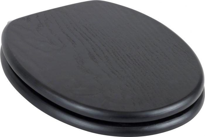 Wc-istuinkansi SaniScan Basis Wood Musta