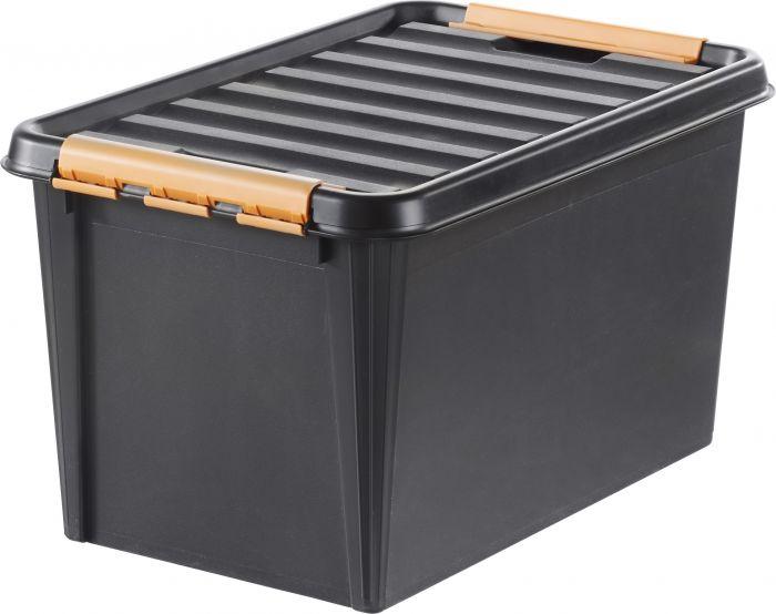 Säilytyslaatikko SmartStore Pro 45 Musta 59 x 39 x 34 cm
