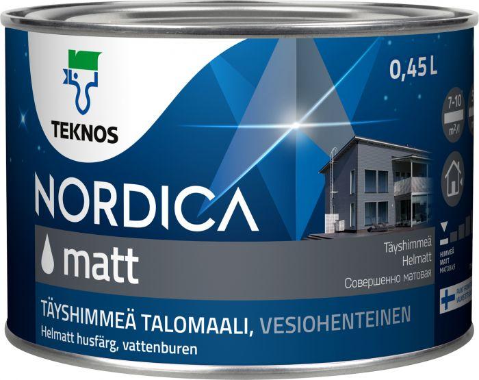 Ulkomaali Teknos Nordica Matt