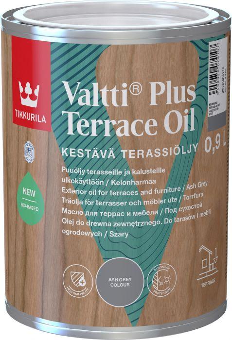 Valtti Plus Terrace Oil Tikkurila Kelonharmaa