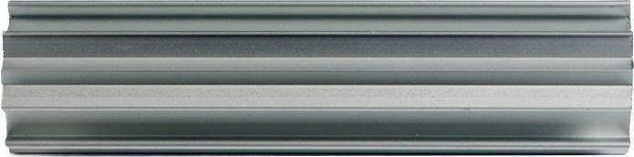 Kulmalista LunaComp 4000 mm Harmaa