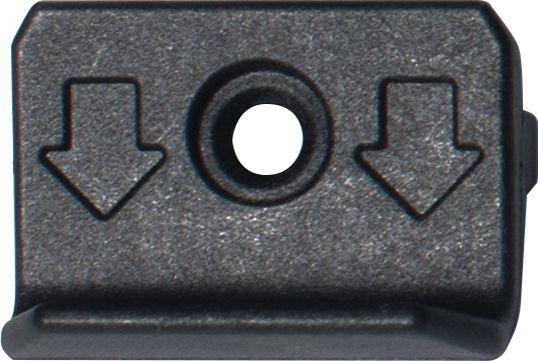 Piilokiinnike Lunacomp Musta 250 kpl