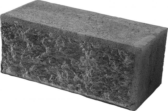 Citymuurikivi Lakka Musta 360 x 180 x 150 mm