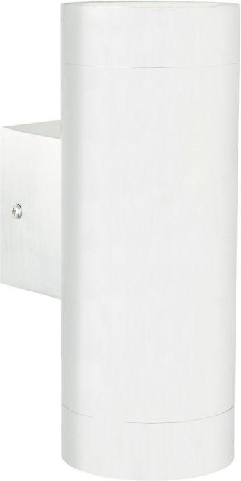 Ulkoseinävalaisin Nordlux Tin Maxi 2-osainen Valkoinen